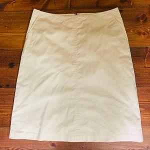 Banana Republic Khaki Skirt